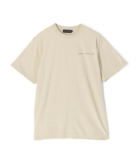 PETER SUTHERLAND × ESTNATION / プリントTシャツ