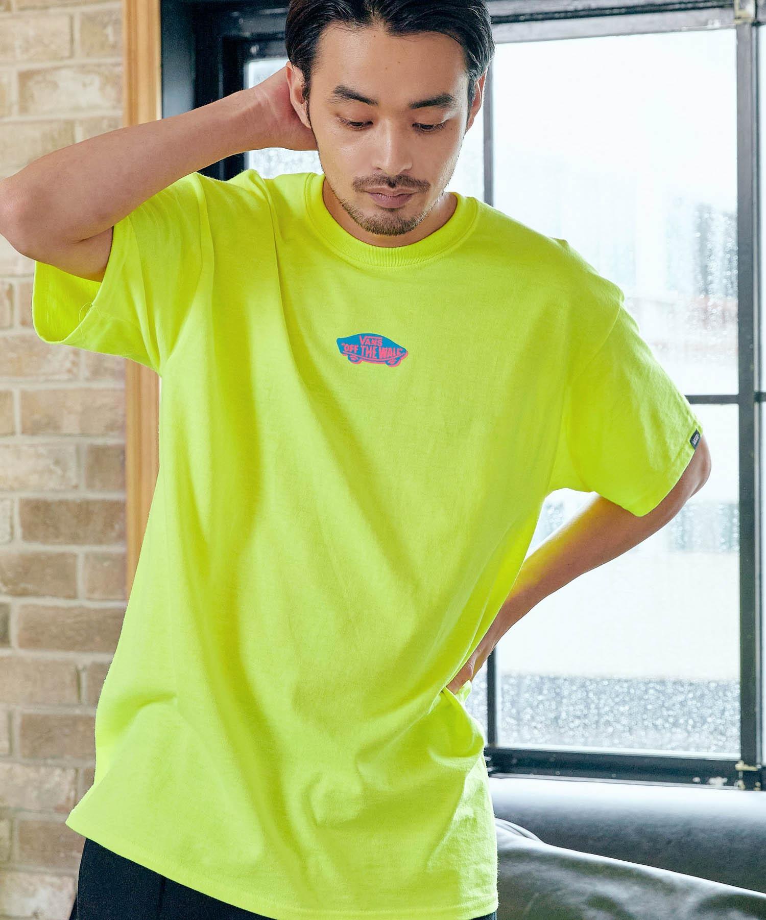 VANS/ヴァンズ Neon OTW S/S T-Shirt ネオンオフザウォールプリント半袖Tシャツ