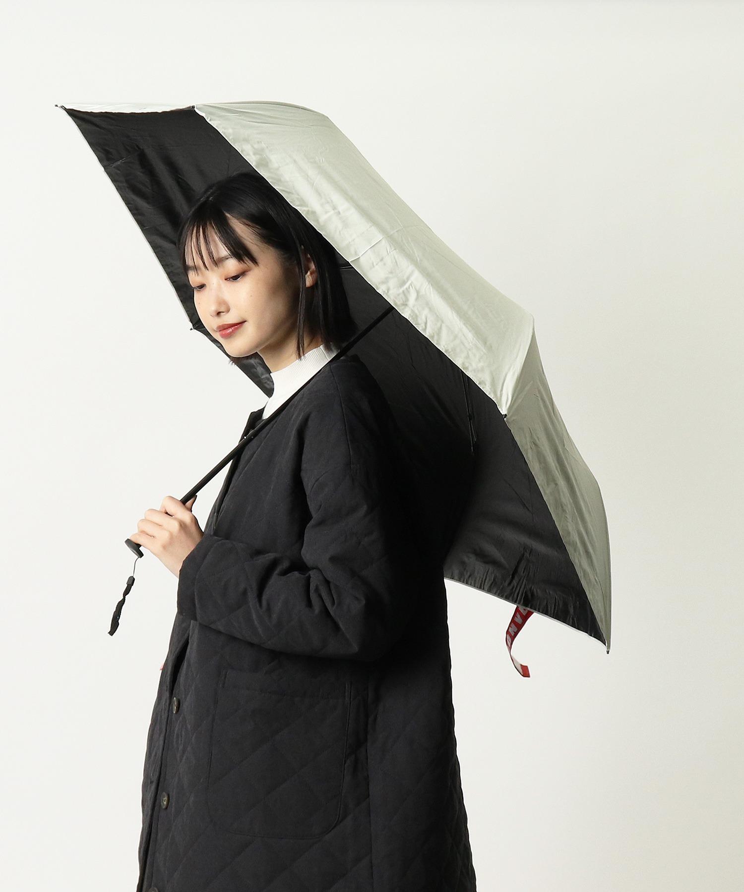 【 CONVERSE / コンバース 】 晴雨兼用 ユニセックス折りたたみ日傘 CON-MT-58M OGW ・・