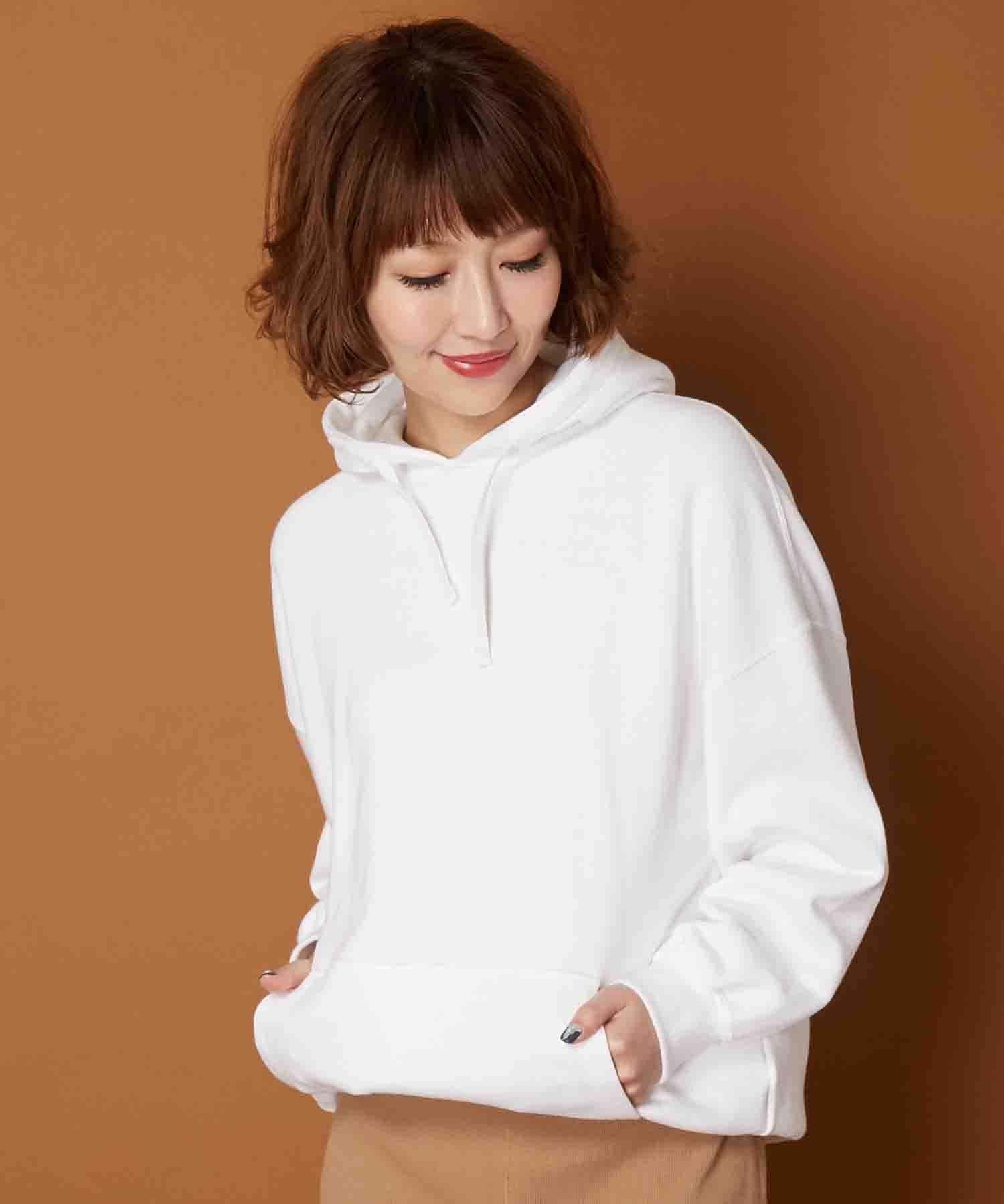 AMERICAN RAG CIE Oversized Hoodie Sweatshirt/アメリカンラグシー オーバーサイズフードスウェットプルオーバー
