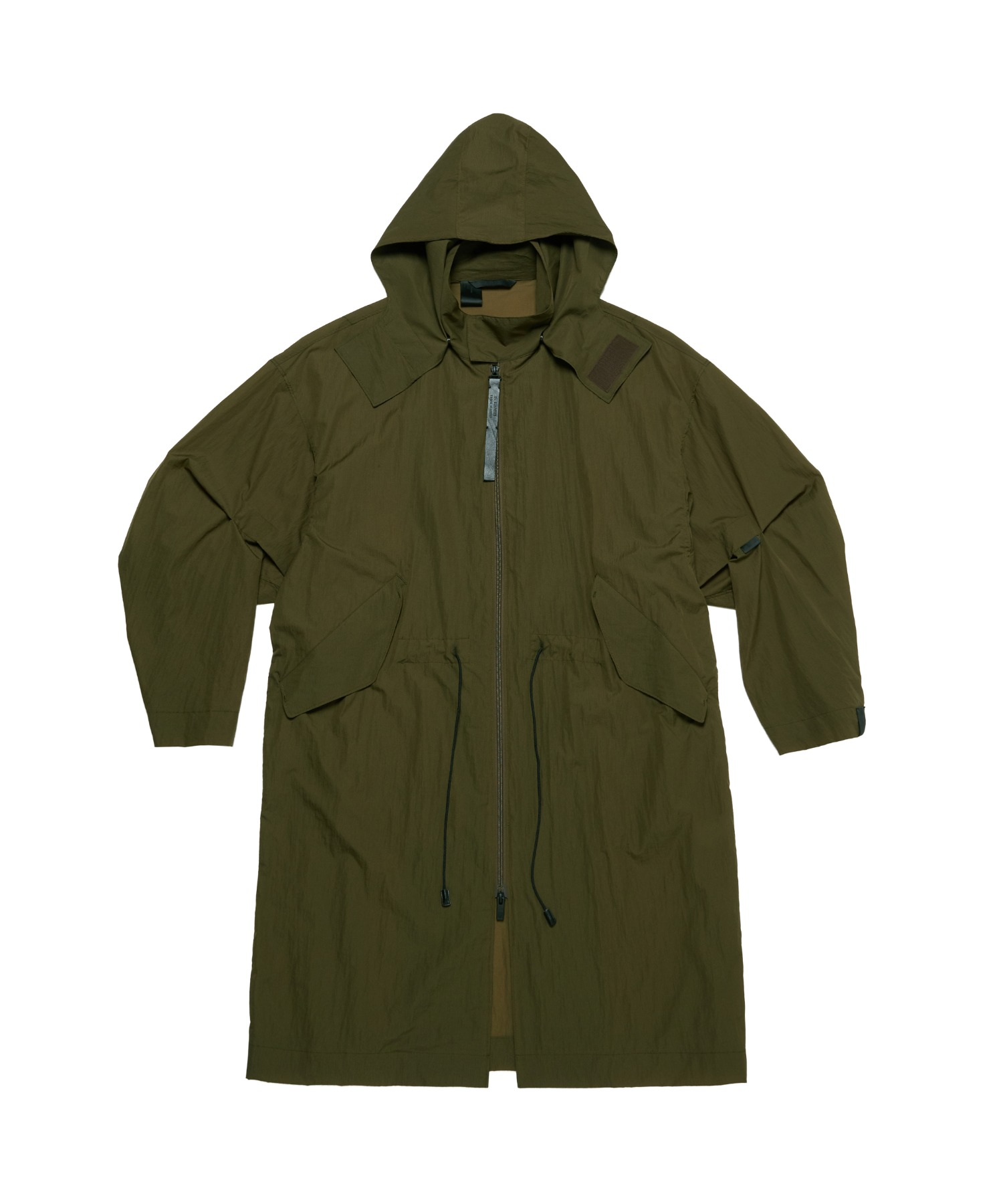 SPRING2021 HOODED LONG COAT