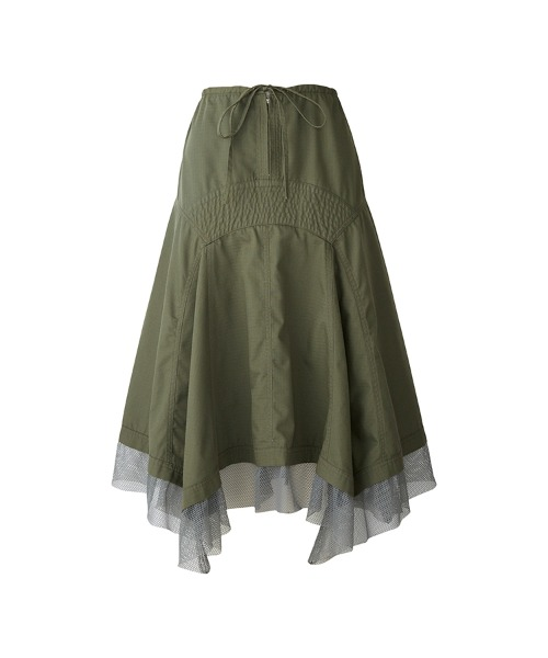 GIRLS JUMP MIDNIGHT フレアスカート