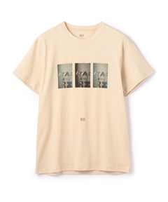 VOICE×ESTNATION / フラワーフォトプリントTシャツ
