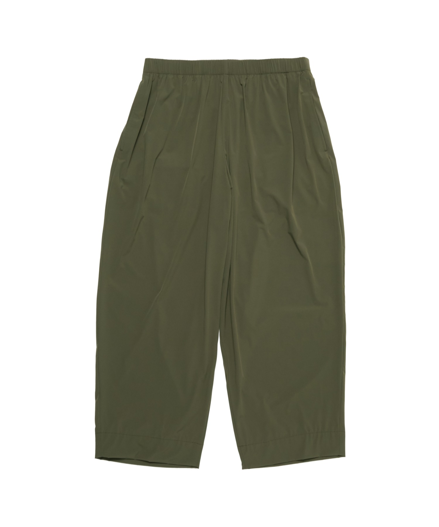 SPRING2021 RIBBED EASY PANTS