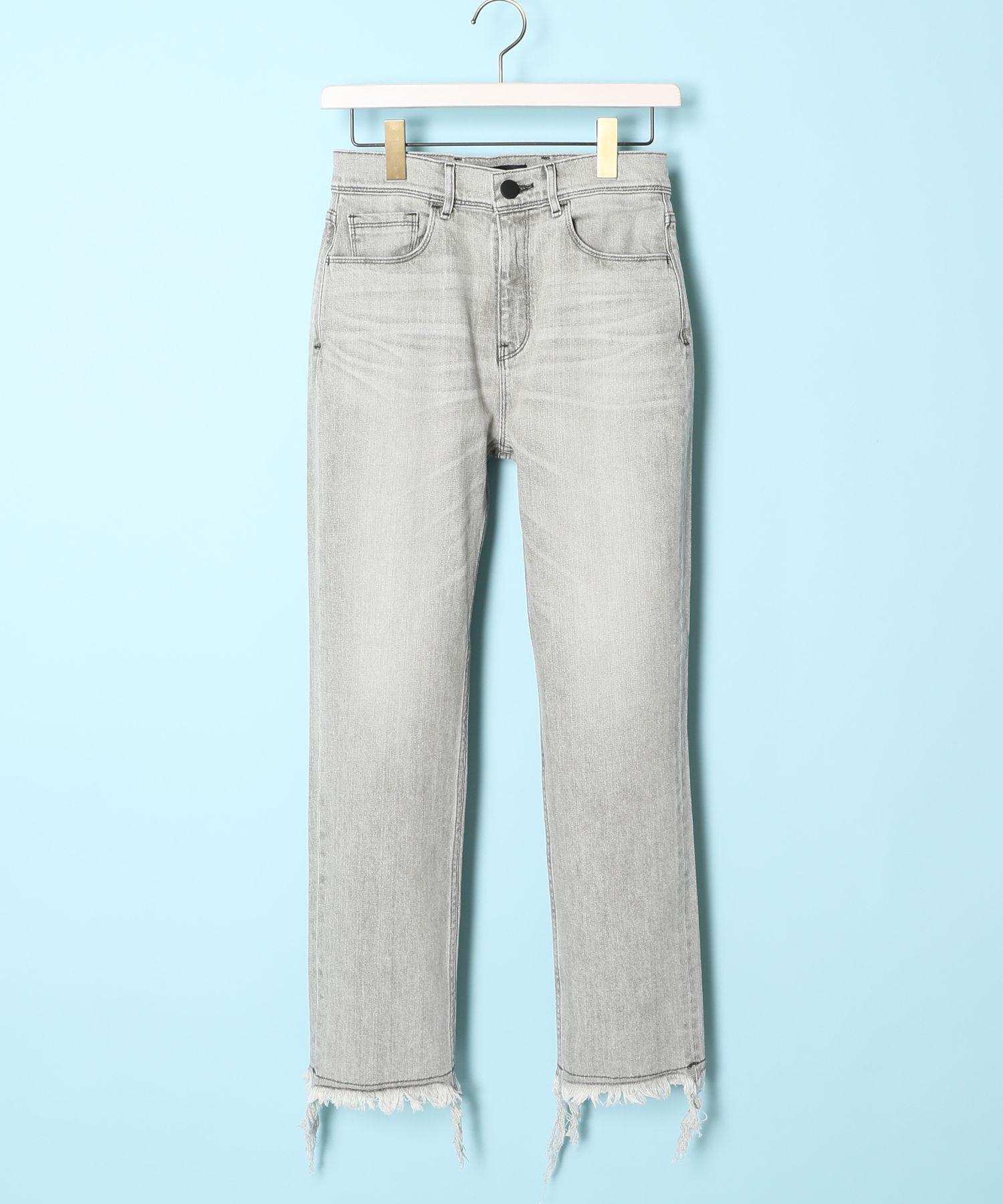 THE BLACK ザブラック / FIRE ストレートフィットジーンズ Straight Fit Jeans
