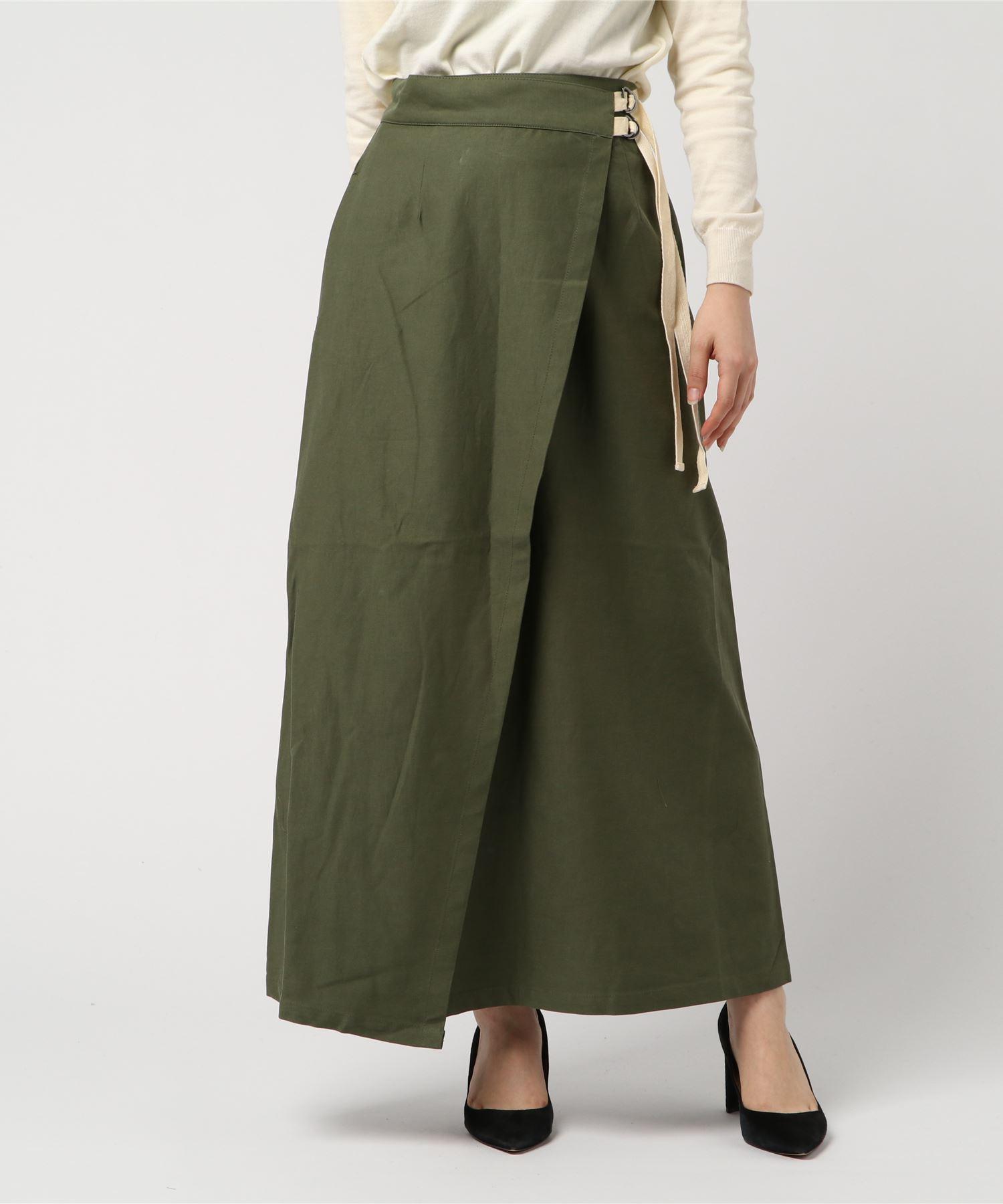 AMERICAN RAG CIE Wrap Skirt/アメリカンラグシー ラップスカート
