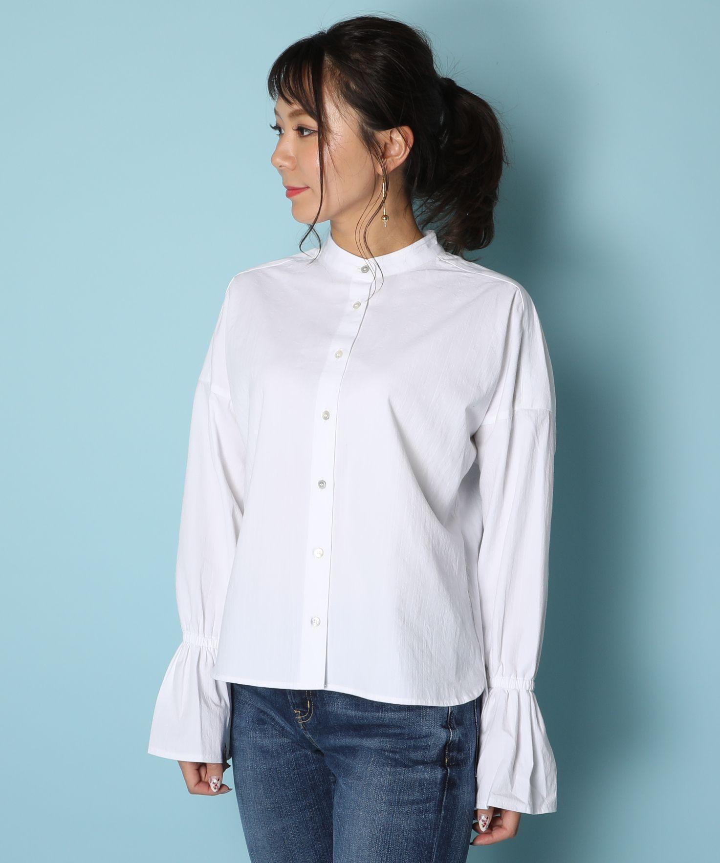 American Rag Cie Frill Shirt/アメリカンラグシー フリルシャツ