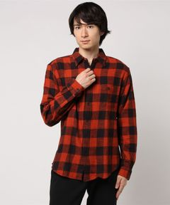 【ALEX MILL】Buffalo Check Flannel Shirt