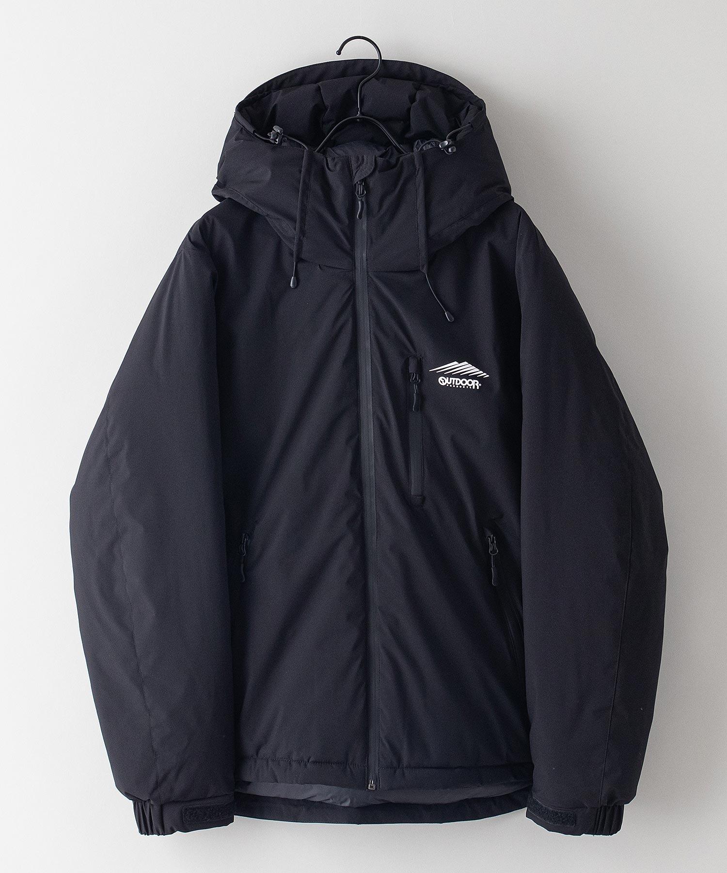 撥水中綿フードジャケット 昨年人気モデルが更に進化して登場 防風/撥水/ストレッチ/耐水圧/防花粉/UVと高機能素材を使用 ユニセックス
