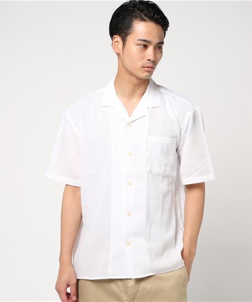 ヨウリュウオープンカラーシャツ