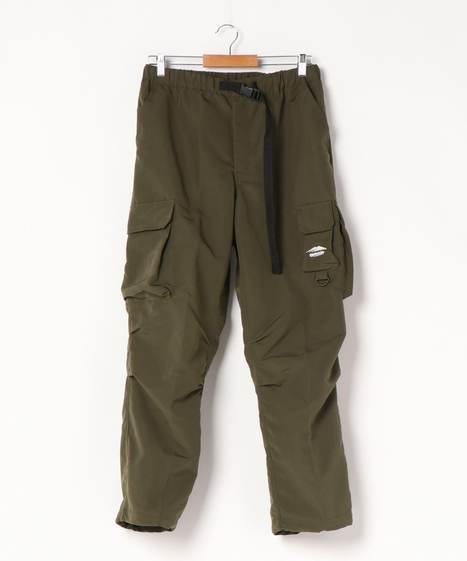 難燃カーゴパンツ 撥水  着るBAGシリーズ  ポケット10個  収納力抜群 裾スピンドル仕様