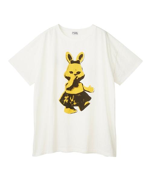 LITTLE RABBIT オーバーサイズTシャツ