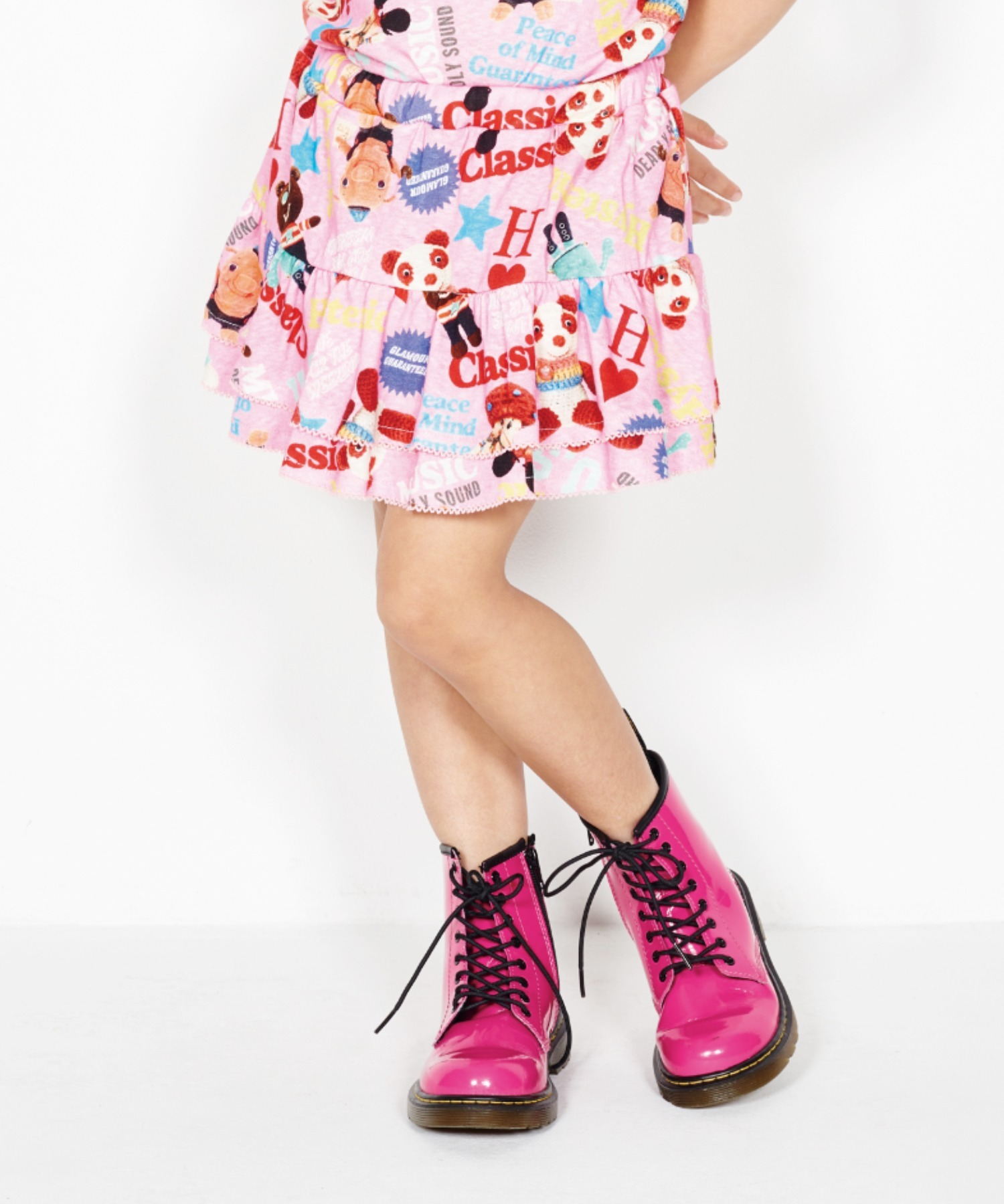 YOKO DOLL MIX柄 ブルマ付きスカート【XS/S/M】