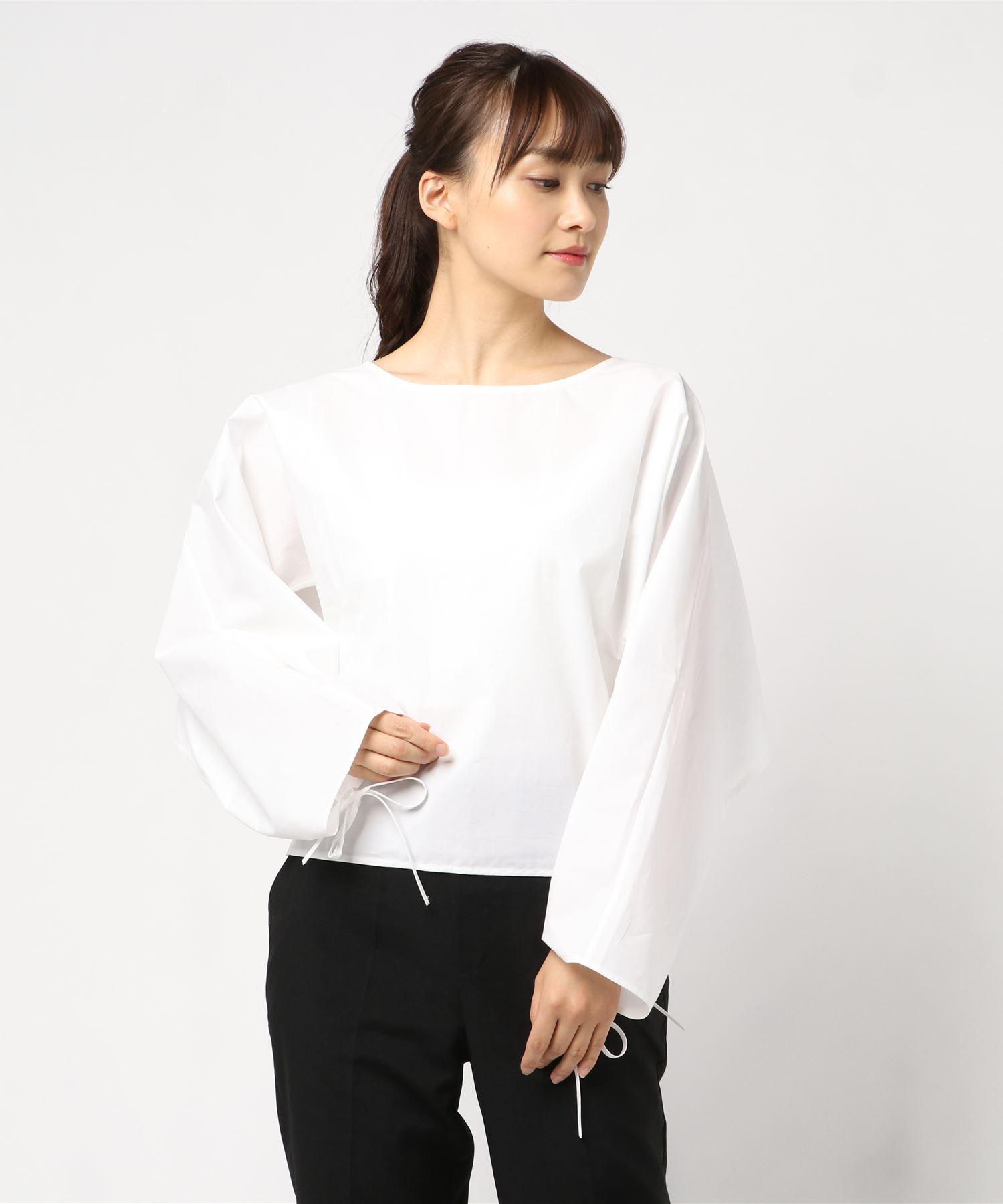 AERON エアロン / 変形袖デザイン コットントップス