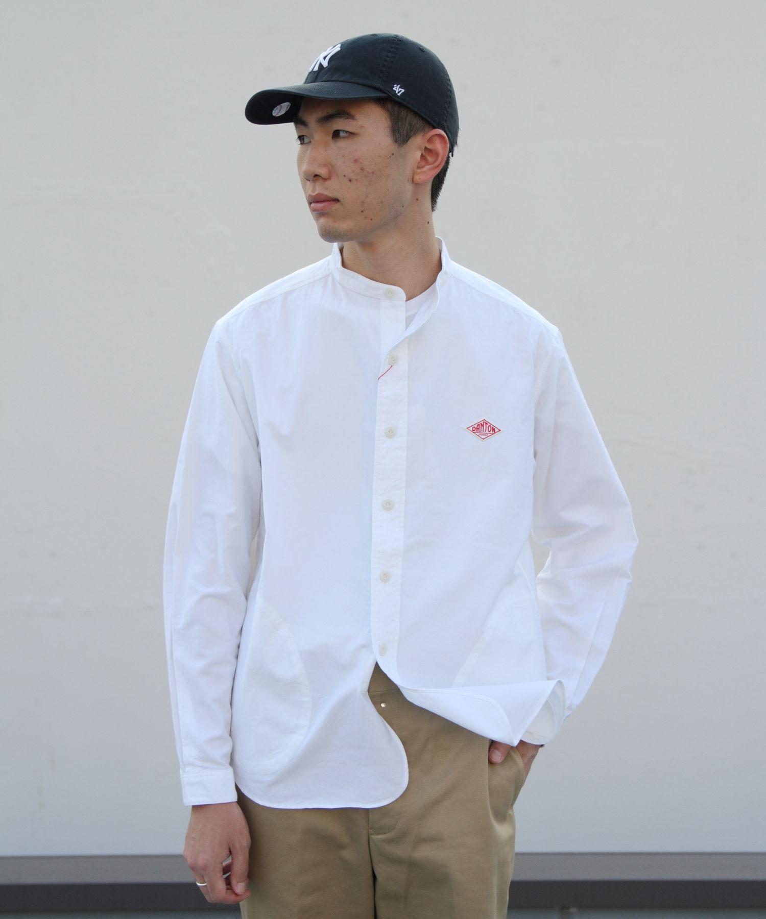 DANTON/ダントン オックススタンドシャツ OX STAND SHIRTS(メンズ)#JD3607YOX