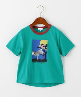 ca79bbfebe8e1 アフリカプリントリンガーTシャツ green label relaxing ...