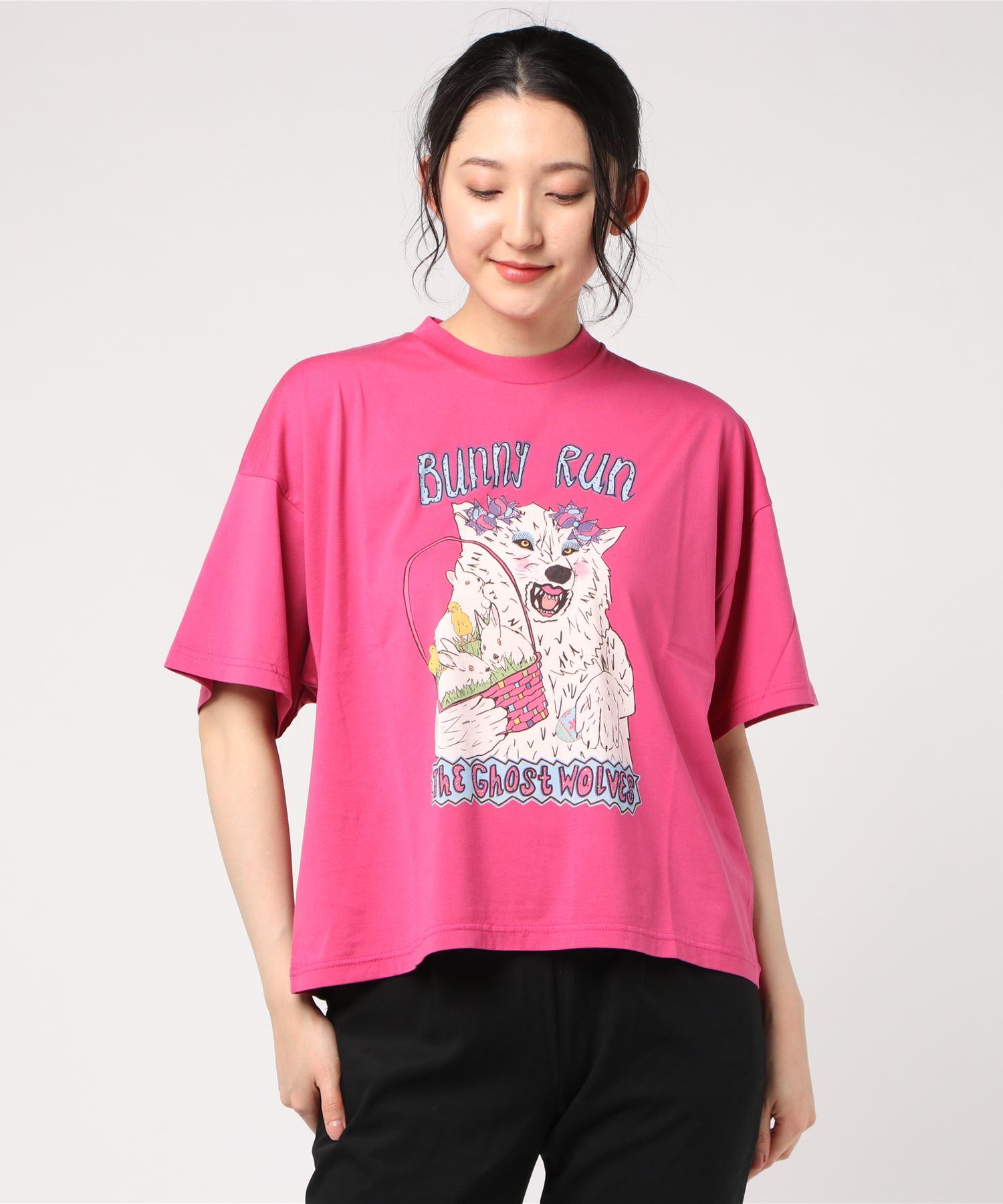 THE GHOST WOLVES/BUNNY RUN オーバーサイズTシャツ