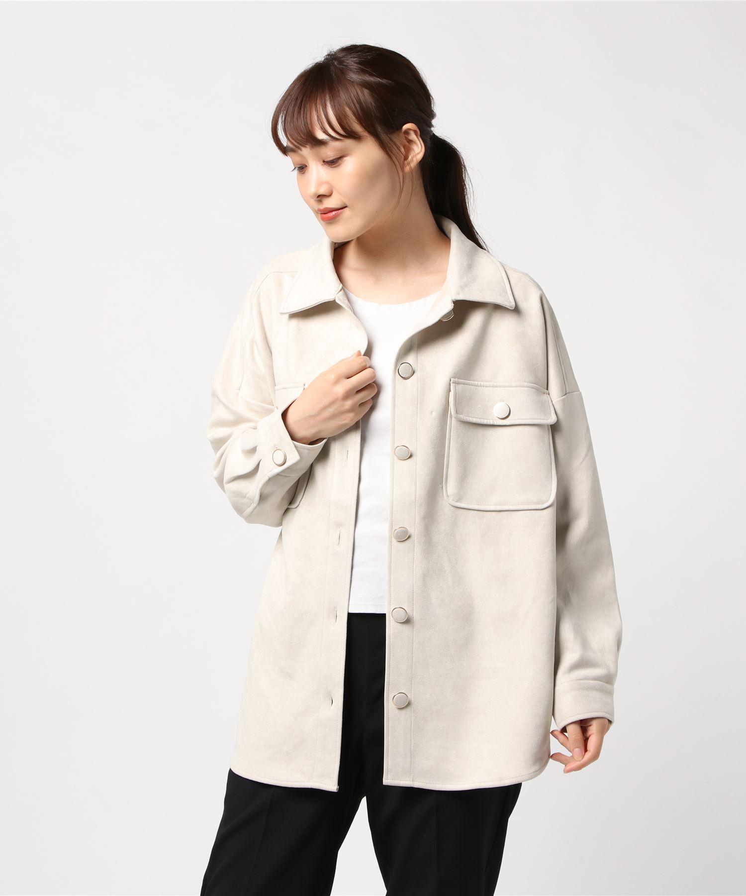 スエードポンチジャケット