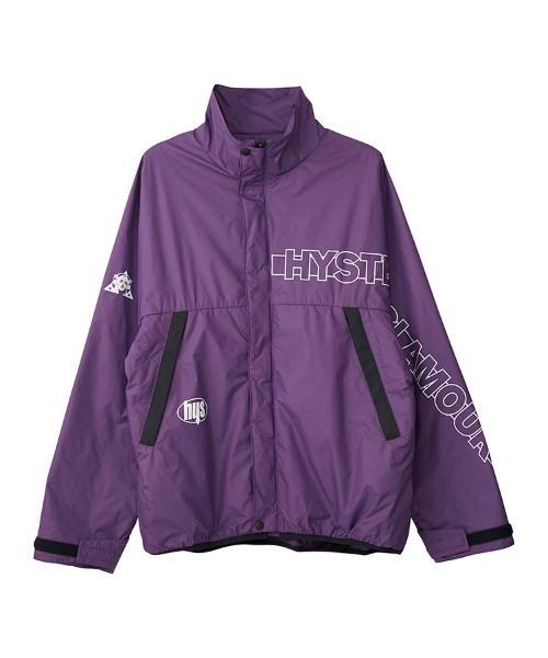 HG ロゴ スタンドカラージャケット