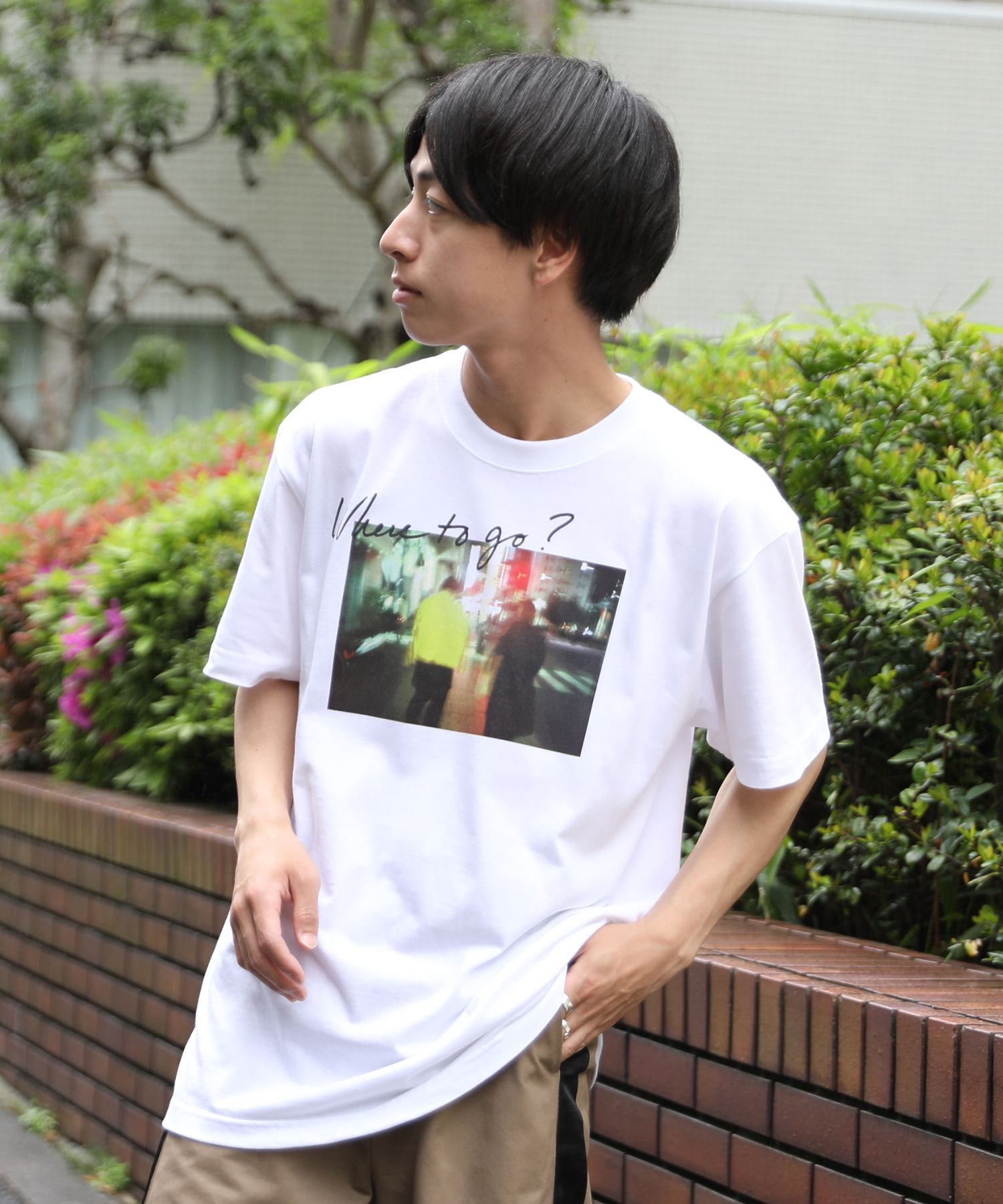 AMERICAN RAG CIE × Fukiharu PHOTO TEE no.3 / アメリカンラグシー×吹春友介 フォトTシャツ