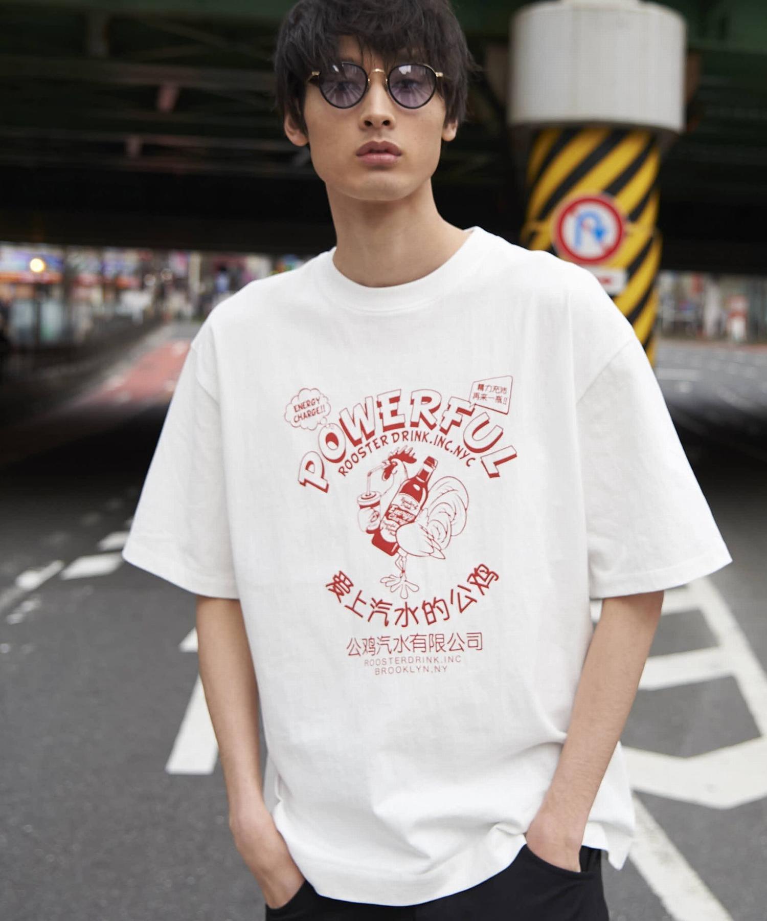 ビッグシルエットプリントTシャツ2_a