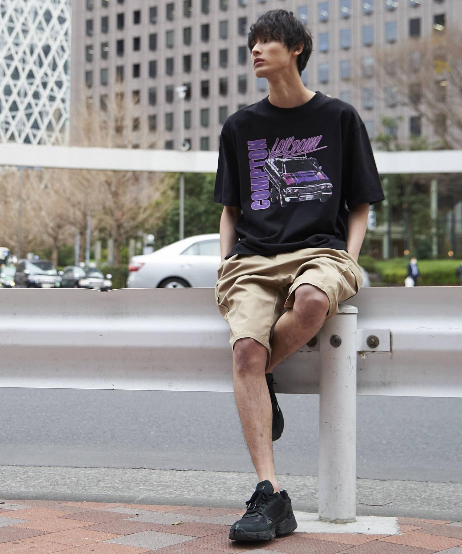 ビッグシルエットプリントTシャツ2_b