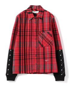"""OFF-WHITE / """"JERSEY SLEEVE SHIRT"""" シャツ"""