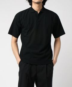 "AURALEE / ""HARD TWIST AMUNZEN DB CLOTH POLO"" ポロシャツ"