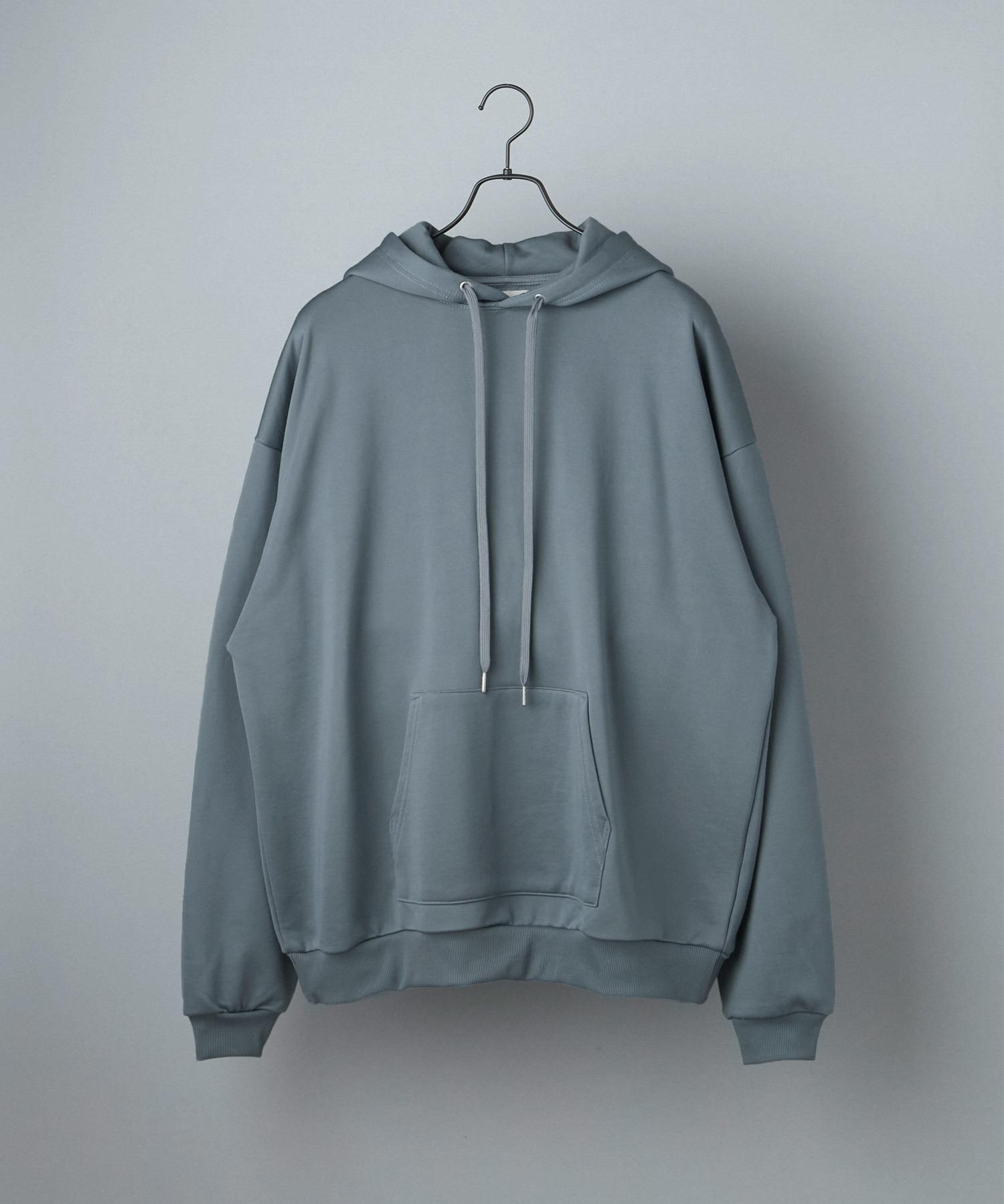 ビッグシルエット クオリティーブライト裏毛 プルオーバーパーカー/EMMA CLOTHES (セットアップ対応)