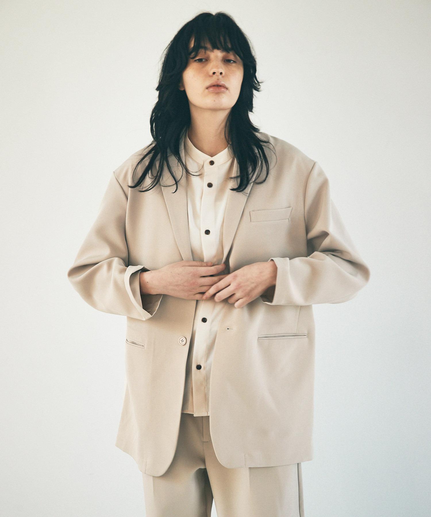 ルーズシルエットテーラードジャケットEMMA CLOTHES 2021 S/S
