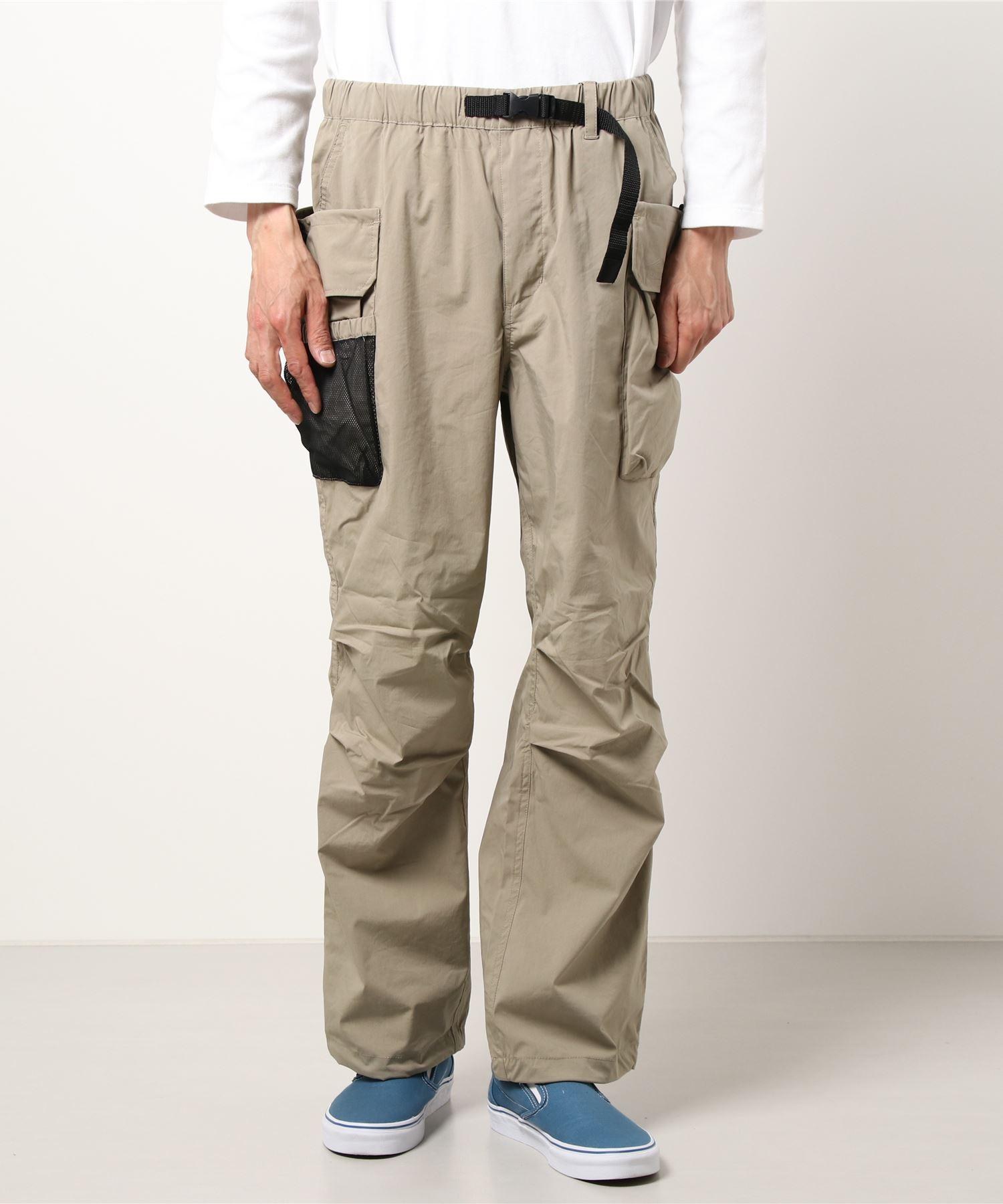 「着るBAG」シリーズ  7ポケットカーゴパンツ 撥水/ストレッチ機能付き