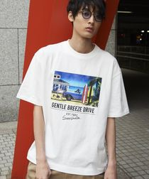 【FINEBOYS6月号掲載】ビッグシルエットプリントTシャツ3(UTILITY LINE)