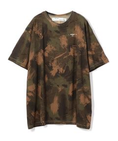 "OFF-WHITE / ""PAINTBLUSH CAMOU S/S TEE"" クルーネックTシャツ"