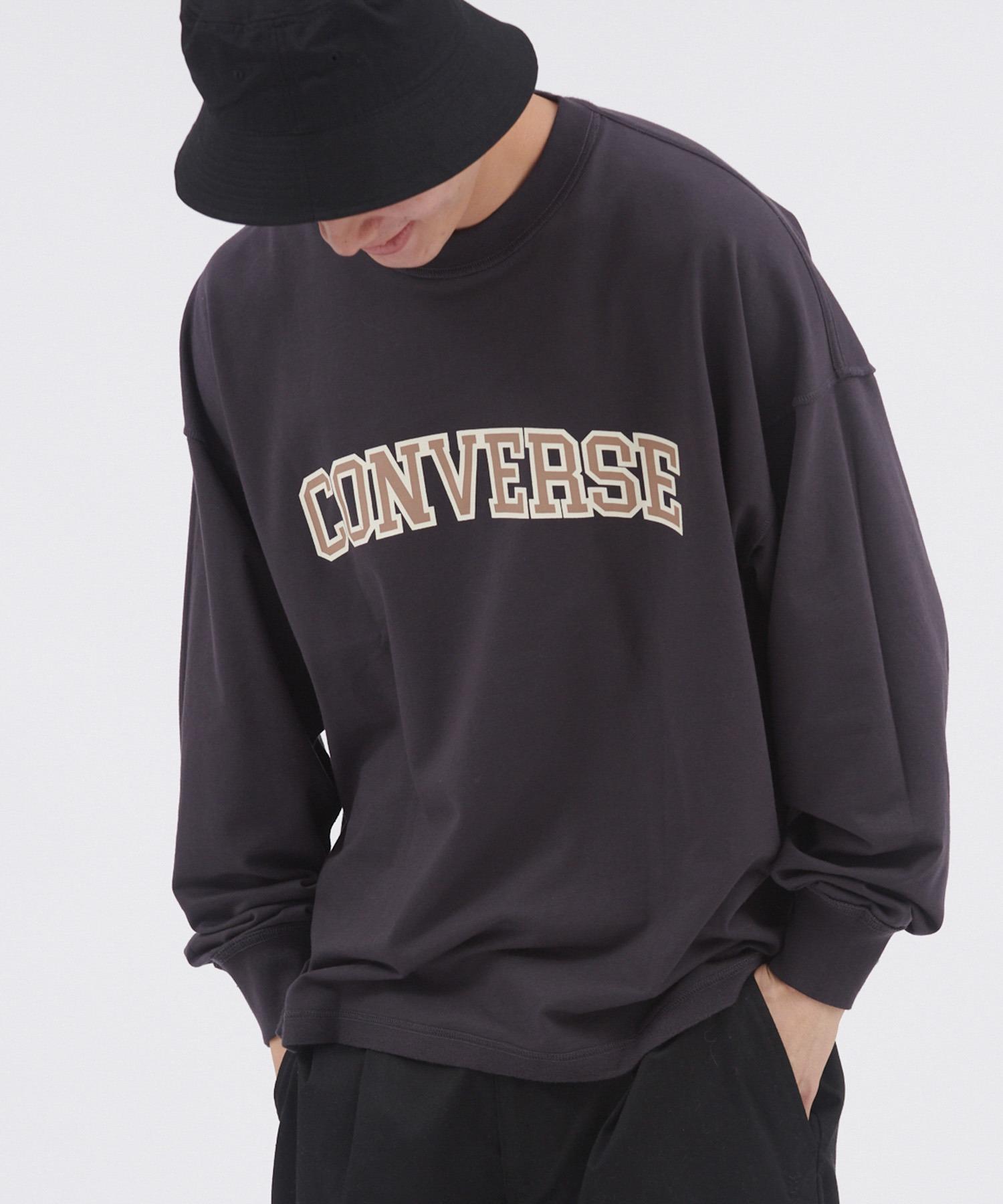 CONVERSE/コンバース オーバーサイズリバーシブル長袖カットソー