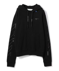 """OFF-WHITE / """"DIAG UNFINISHED SLIM HOODIE"""" フーディー"""