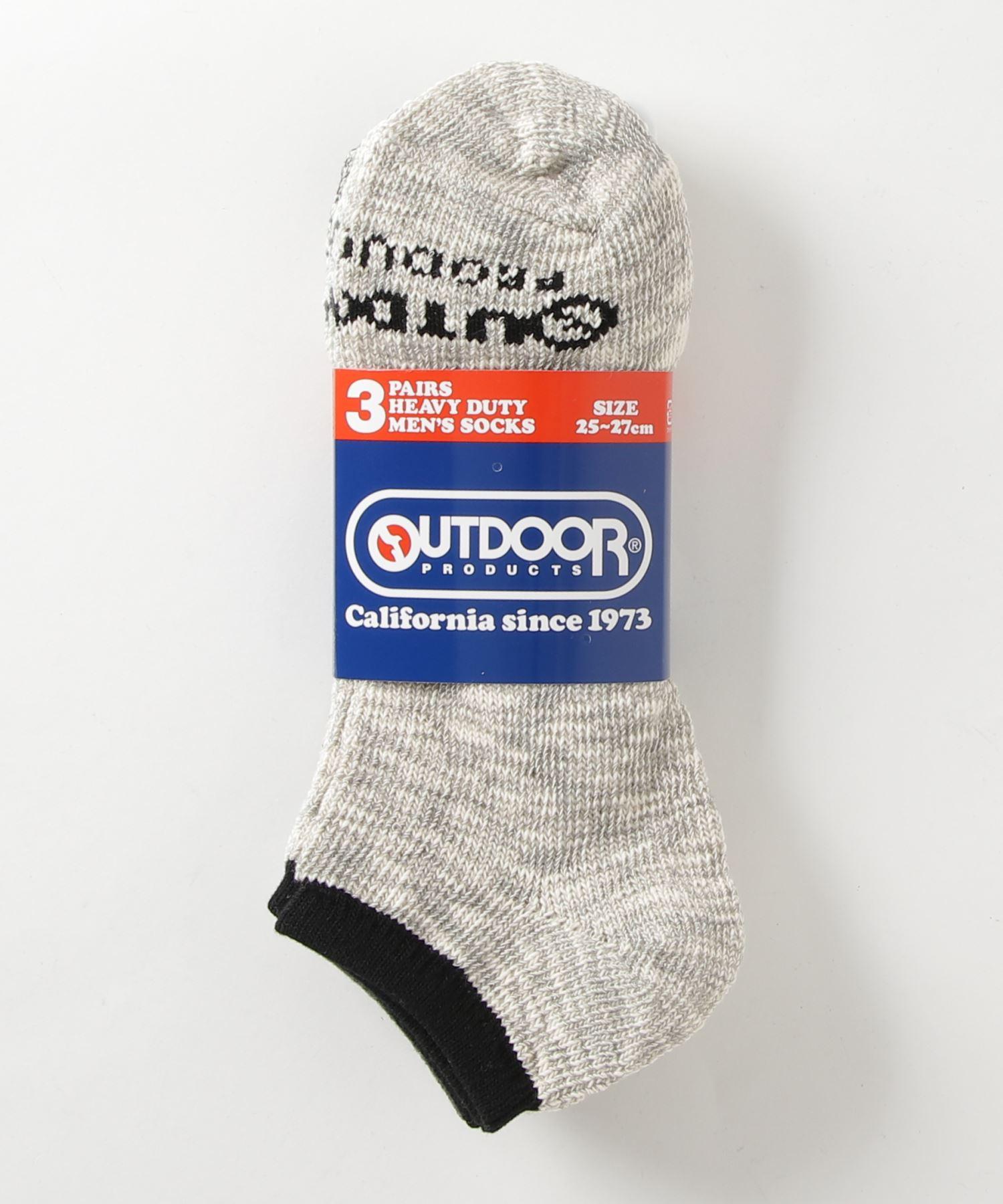 スニーカーソックス3P 3足組 靴下