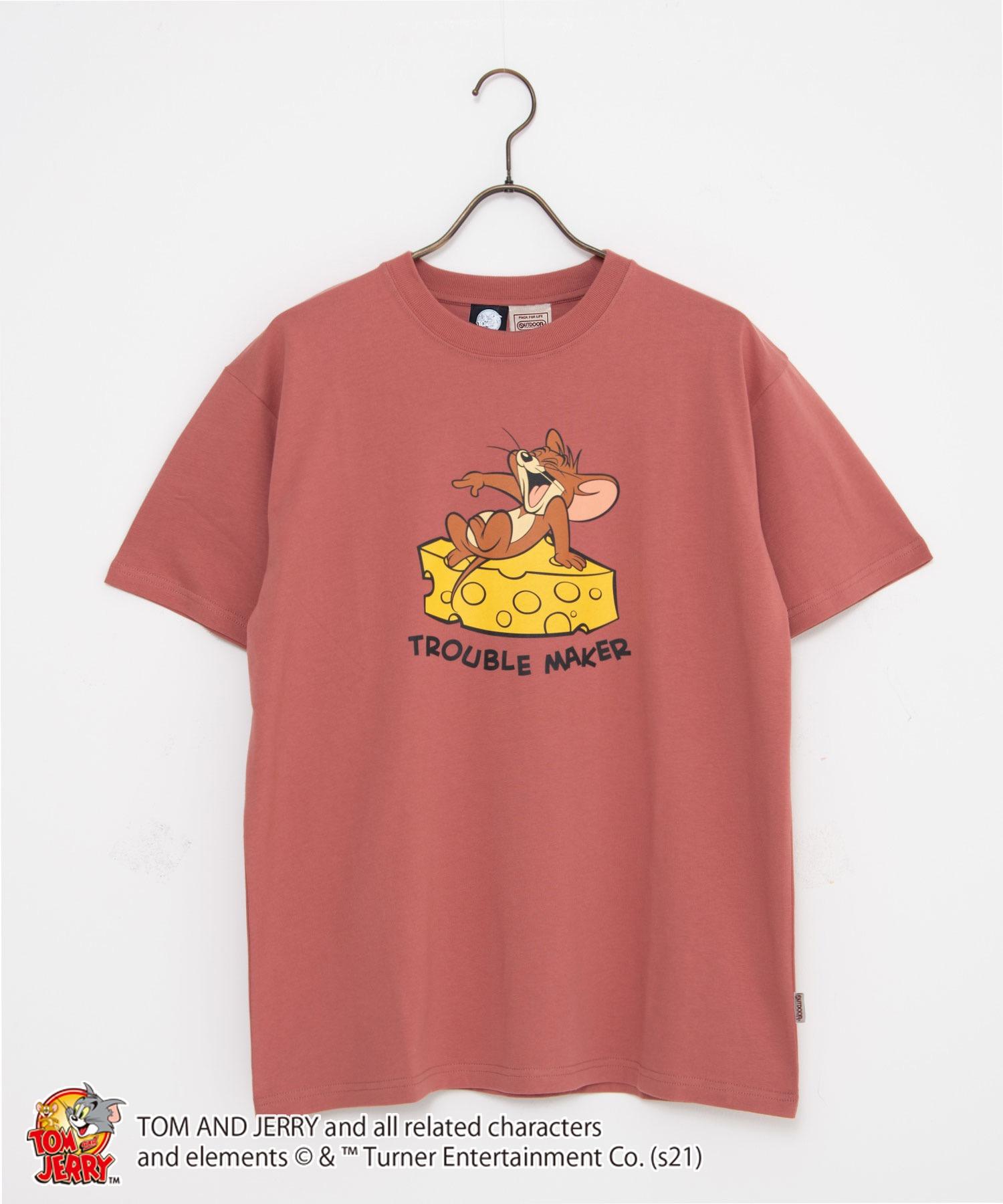 【TOM AND JERRY/トムとジェリー】 別注プリントTシャツ