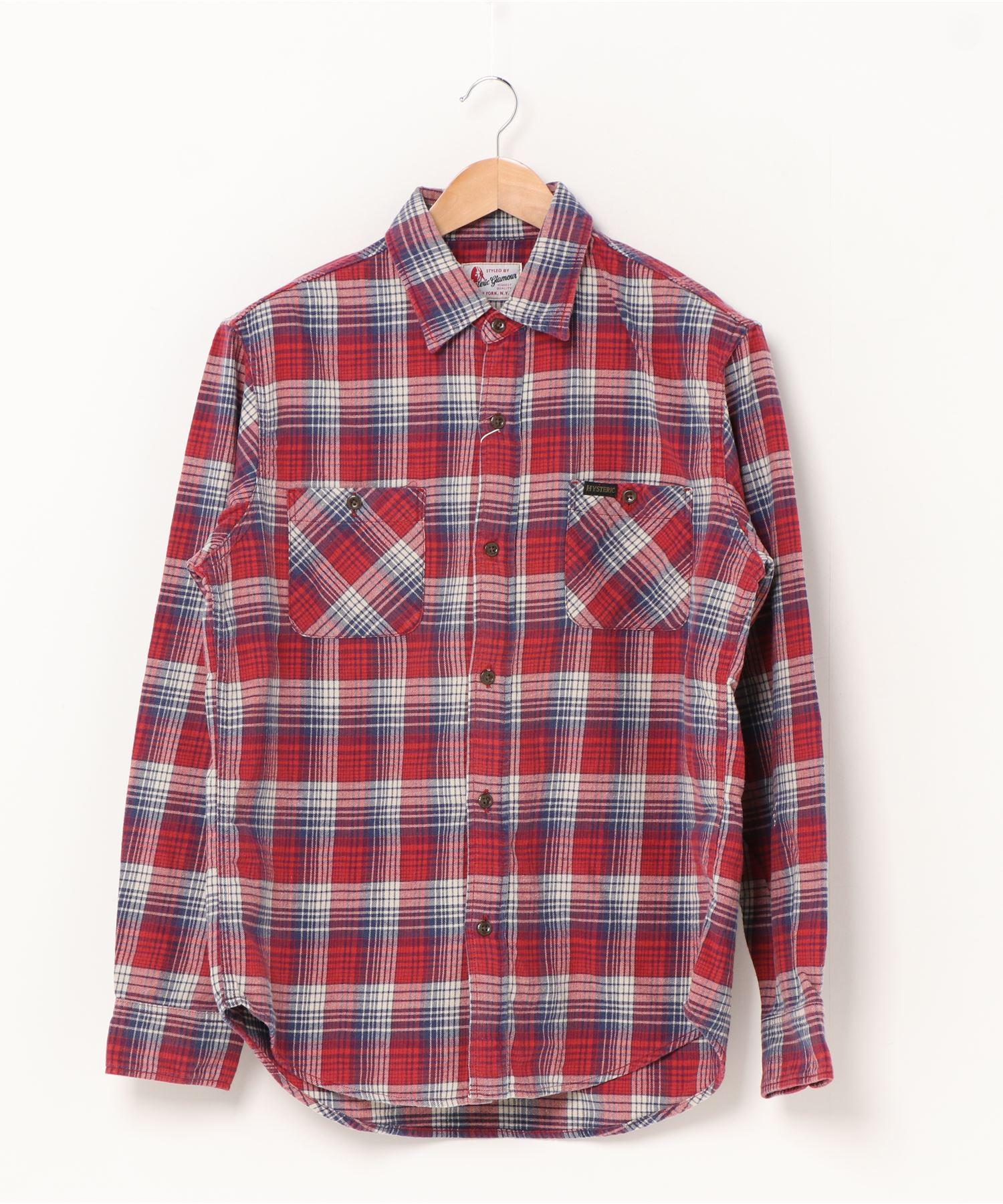グランジネルシャツ