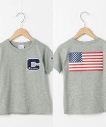 【店舗限定・coen キッズ/ジュニア】Champion(チャンピオン) ワッペンTシャツ