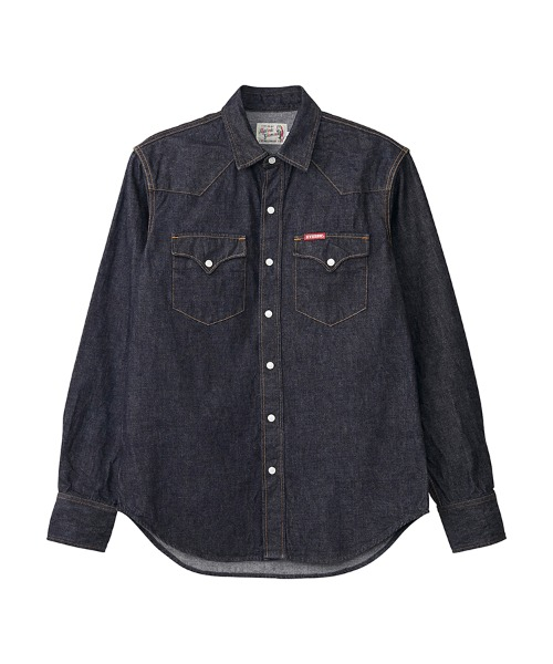 HYSTERIC刺繍 ウエスタンデニムシャツ