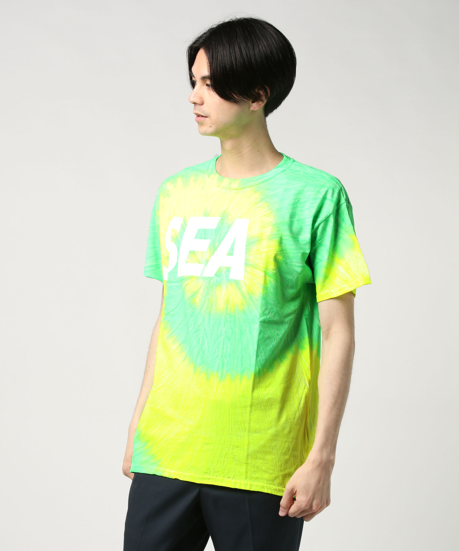 WIND AND SEA ウィンダンシー / タイダイTシャツ T-SHIRT TIEDYE