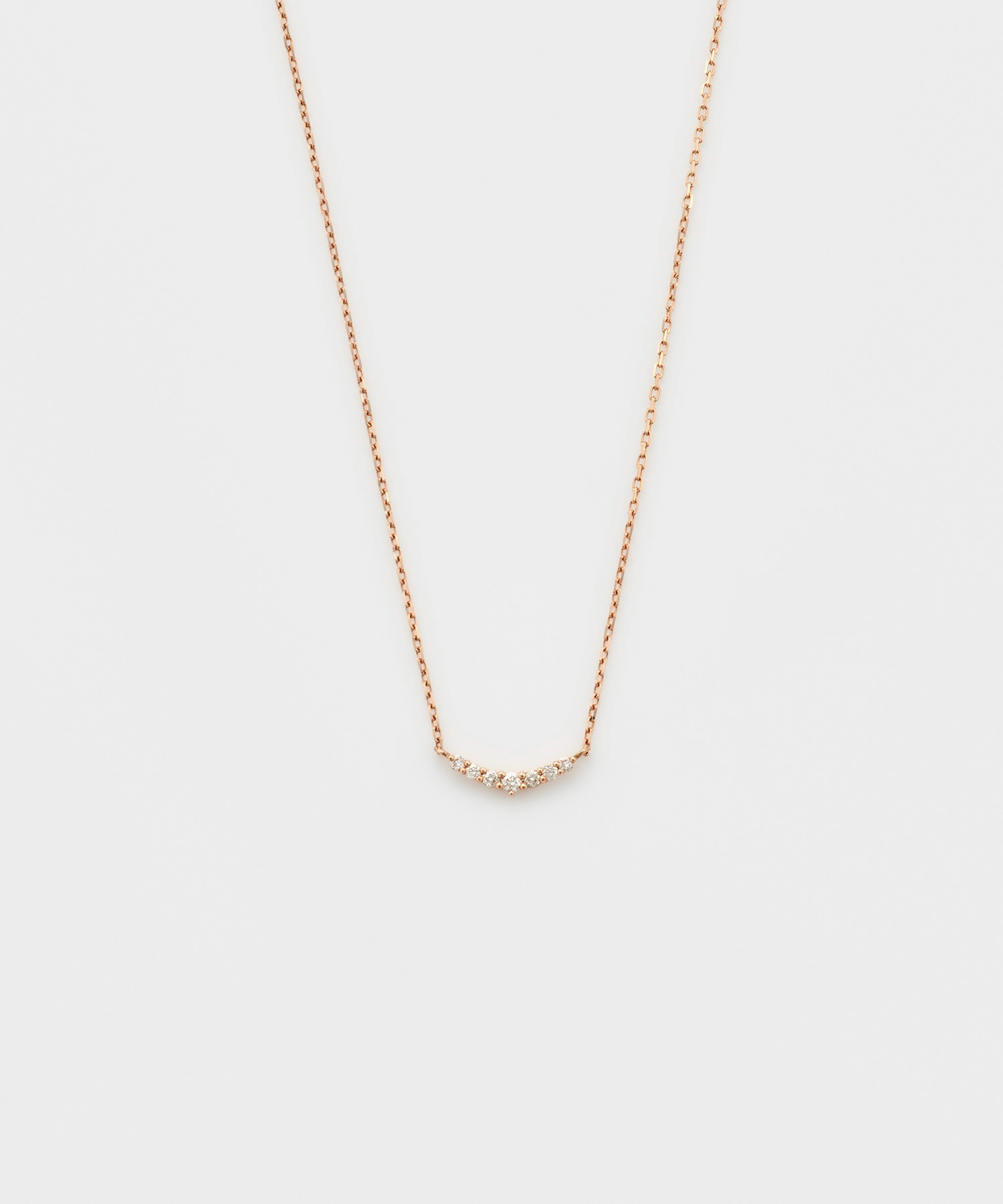 【WEB限定】K10ピンクゴールドネックレス