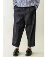 <monkey time>  DENIM WIDE 1P ANKLE/ワイドアンクル