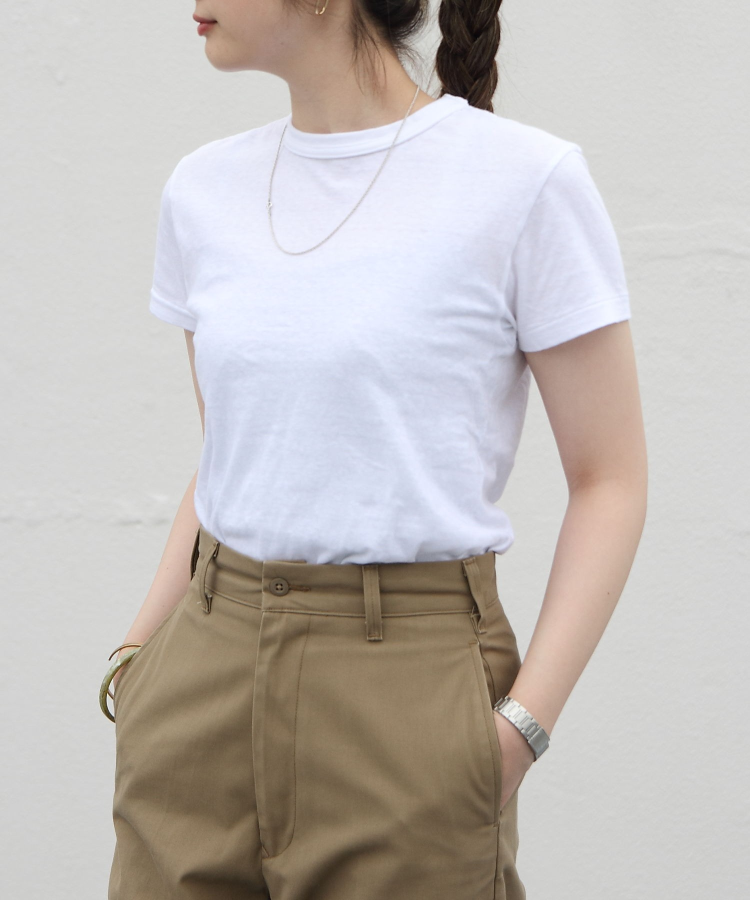 THE SHINZONE/シンゾーン クルーネックTEEシャツ CREW NECK T-SHIRTS