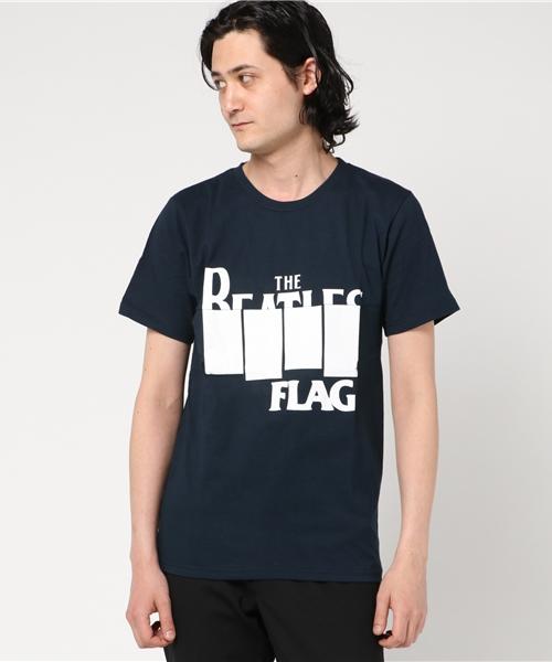 バンド切り替えリメイクTシャツ