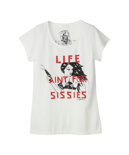 DESTROY ALL MONSTERS/LIFE AIN'T SISSIES Tシャツ