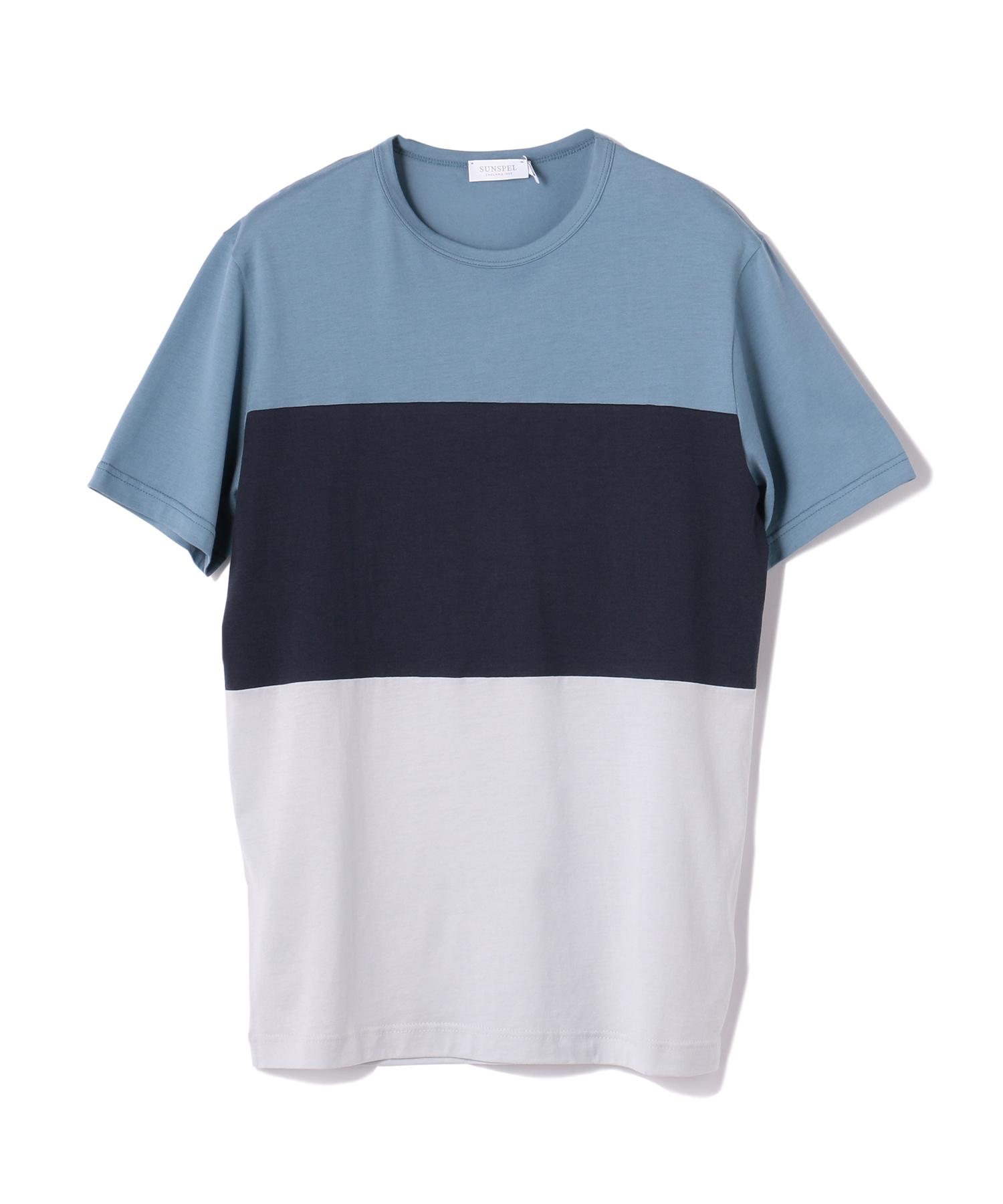 SUNSPEL / カラーブロッキングTシャツ