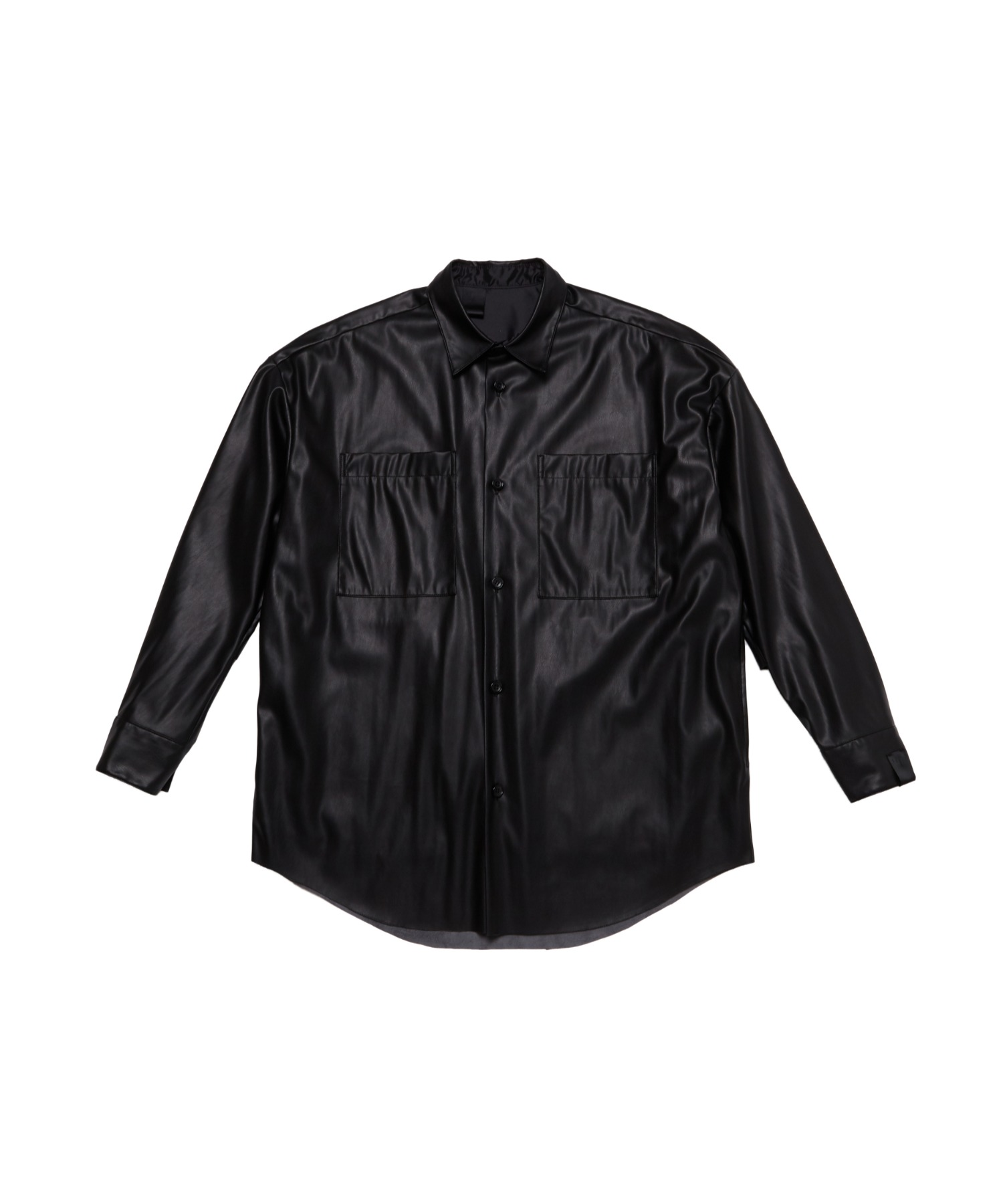 SPRING2021 LEATHER SHIRT