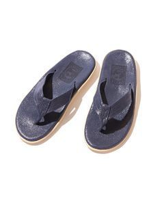 ISLAND SLIPPER クラックレザーサンダル【ESTNATION EXCLUSIVE】