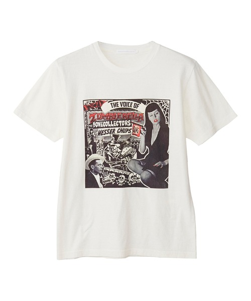 MESSER CHUPS/THE VOICE OF ZOMBIERELLA Tシャツ